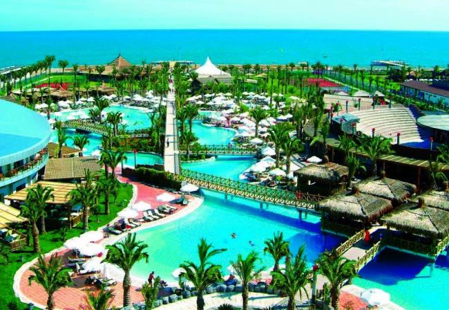 Топ-10 лучших отелей Турции с аквапарками 5