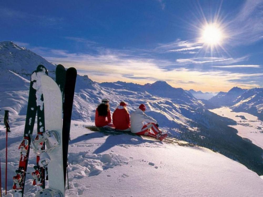 На лыжах в Норвегии