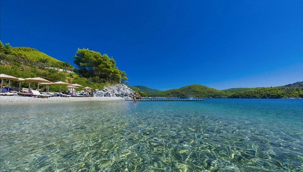 Греция в октябре