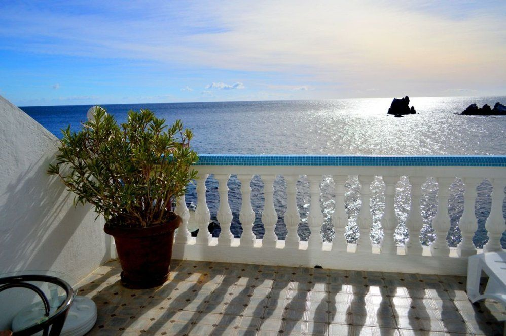 Вид на море из отеля