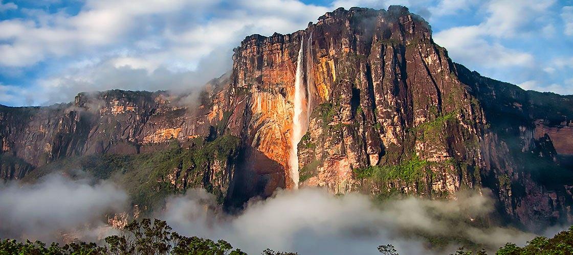 samyj vysokij vodopad v mire