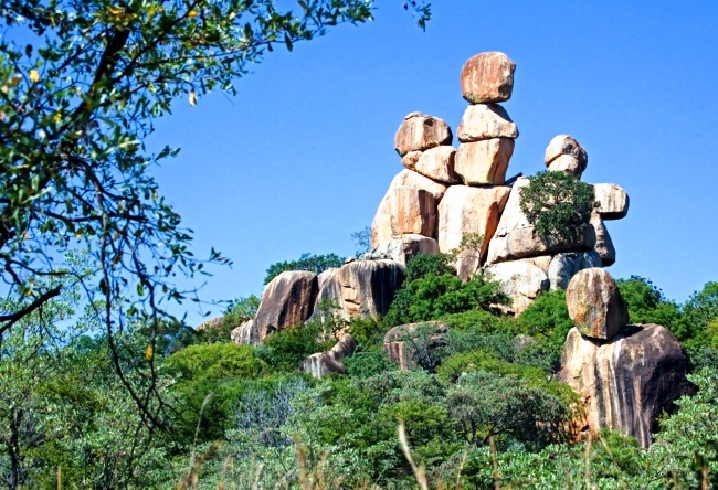 Bald Hills in Zimbabwe  Matobo Hills 2