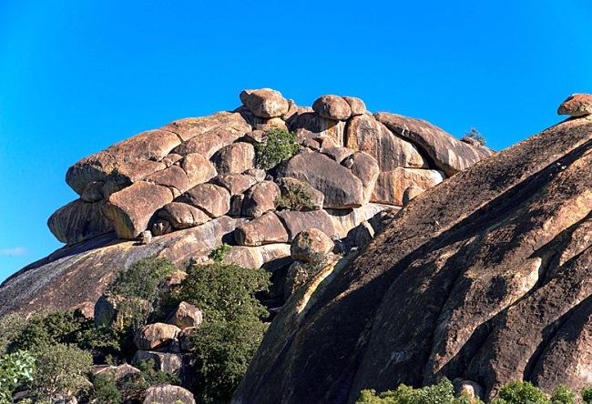 Bald Hills in Zimbabwe  Matobo Hills 4