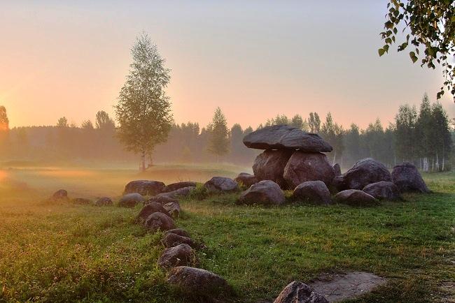 Белорусский Стоунхендж или уникальный музей камней