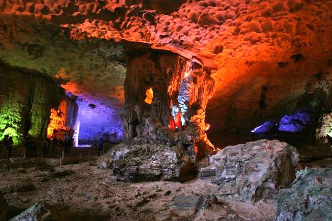 Зимняя сказка круглый год, Пещеры Пинежья