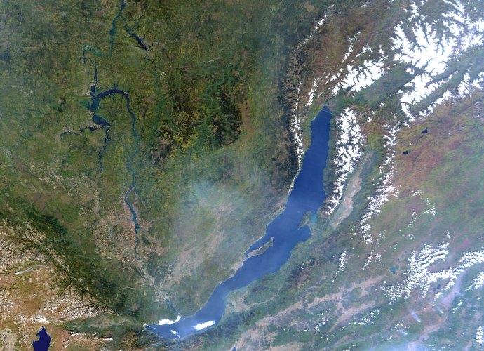 Самое глубокое озеро в мире Байкал 2