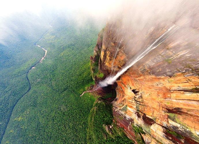 Самый большой водопад в мире Анхель 2