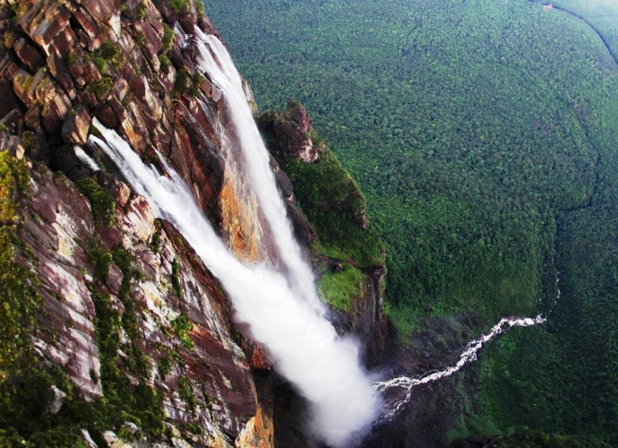 Самый большой водопад в мире Анхель 4