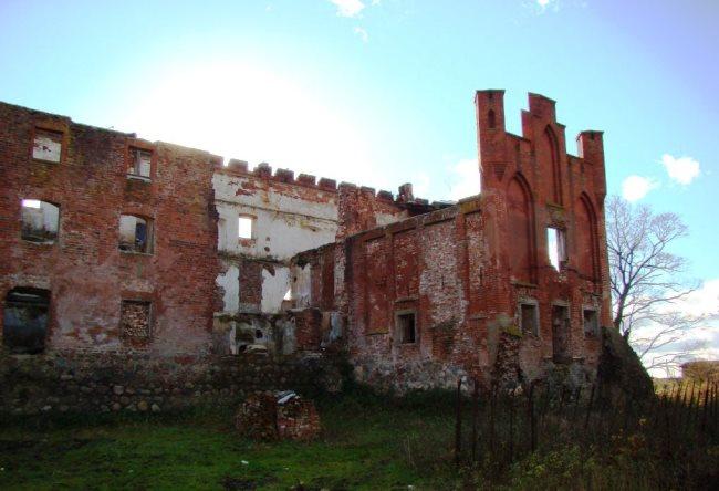 Замок Шаакен что в Гурьевском районе 5