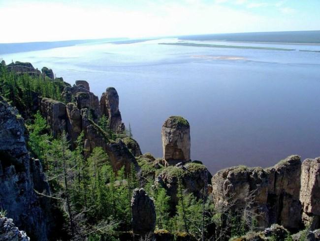 Каменные Столбы в отрогах Восточных Саян 2