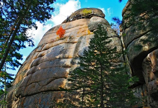 Каменные Столбы в отрогах Восточных Саян 4