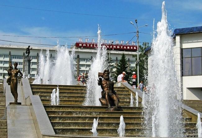 Удивительный и многоликий город Красноярск 3