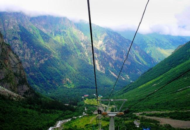 Цейское ущелье Северная Осетия 2