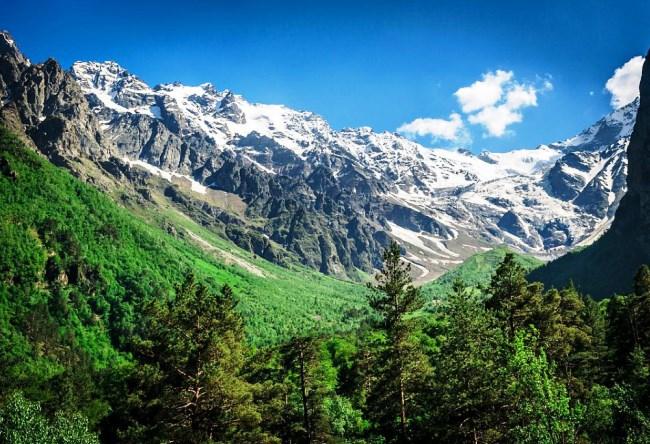 Цейское ущелье Северная Осетия 3