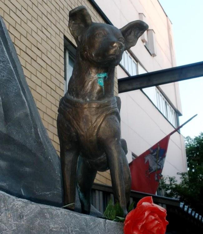 Памятник первому космонавту 1
