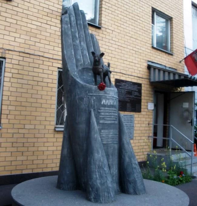 Памятник первому космонавту 3