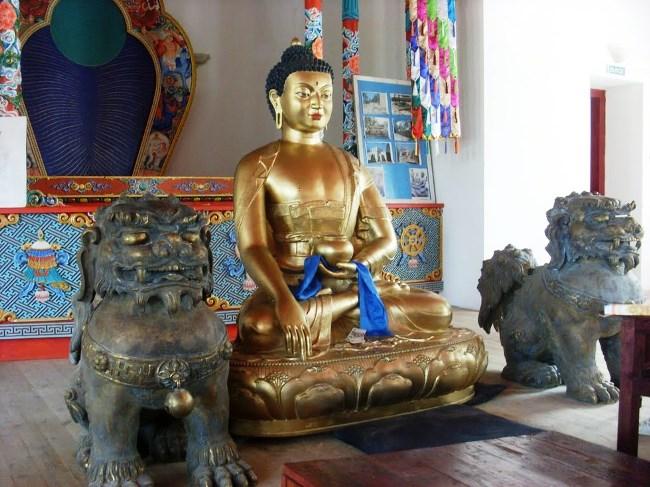 Современный центр буддизма в России  Читинский дацан 3