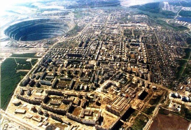 Карьер Удачный – месторождение алмазов в Якутии