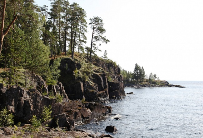 Монастырь острова Валаам