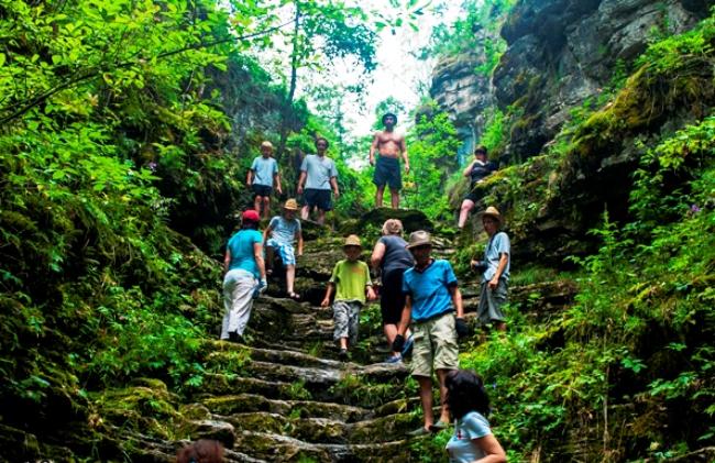 Пещерный комплекс на реке Ай – Сикияз-Тамак