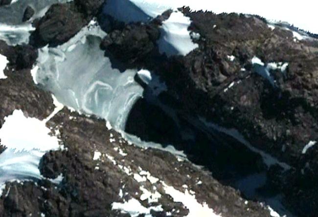 Ископаемое НЛО в Антарктиде
