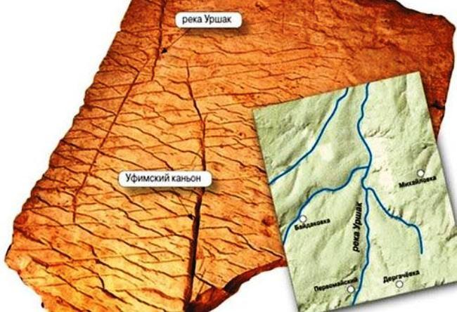 Трехмерная карта возрастом 70 миллионов лет
