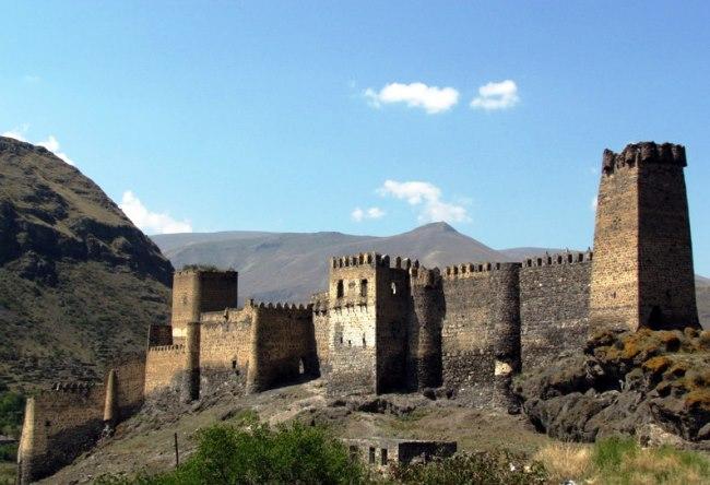 Крепость Хертвиси в  Грузии 2