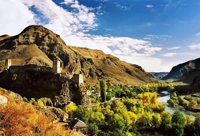 Крепость Хертвиси в  Грузии 3