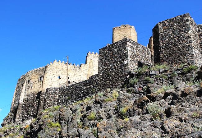 Крепость Хертвиси в  Грузии 4