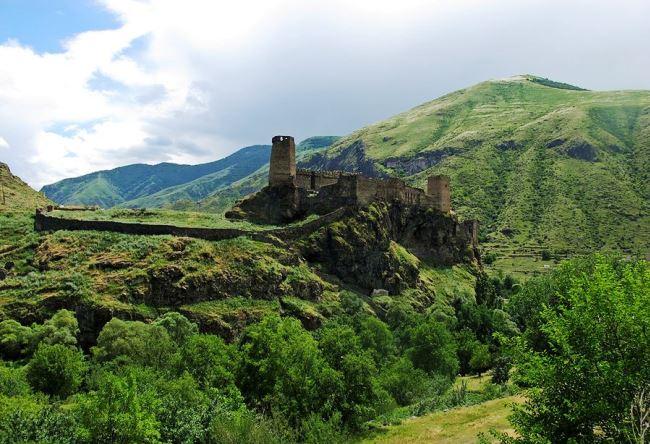 Крепость Хертвиси в  Грузии 5