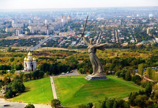Сталинград Родина Мать 1