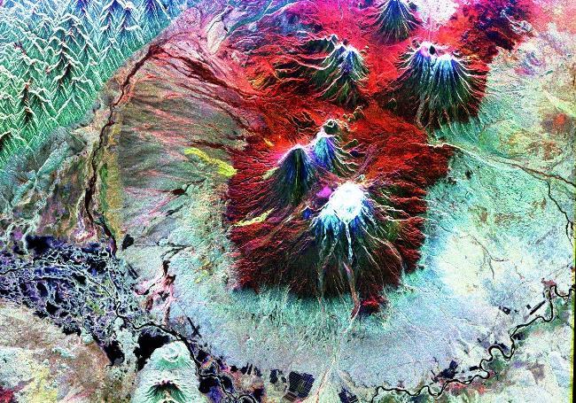 Крупнейший вулкан мира – Ключевская сопка