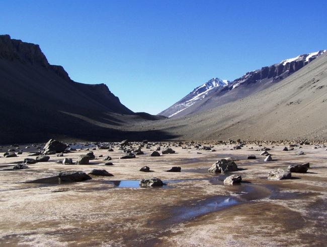 Сухие долины Антарктиды