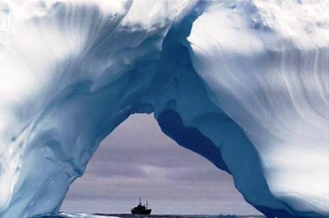Южный магнитный полюс - Антарктида