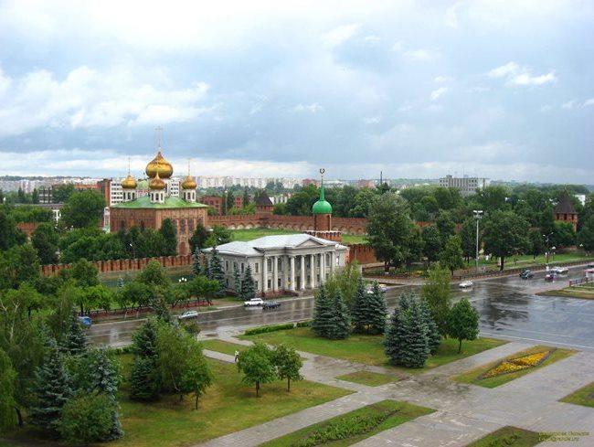 Старинный тульский кремль