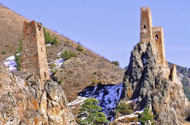 Боевые башни в Ингушетии Вовнушки