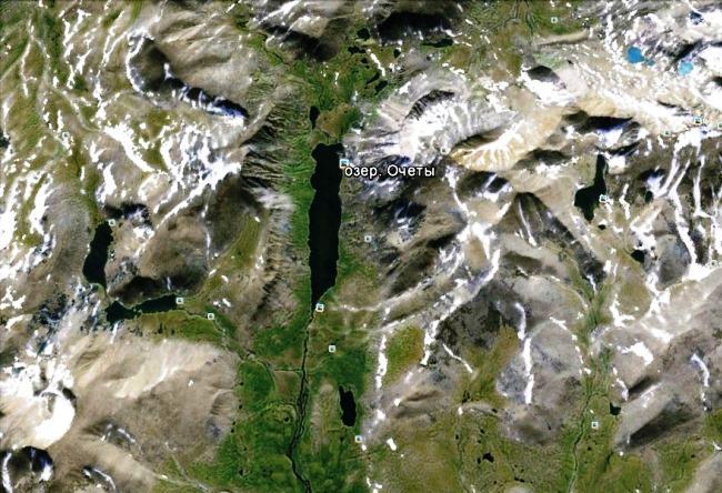 Притягательная красота уральского горного озера Оче-Ты
