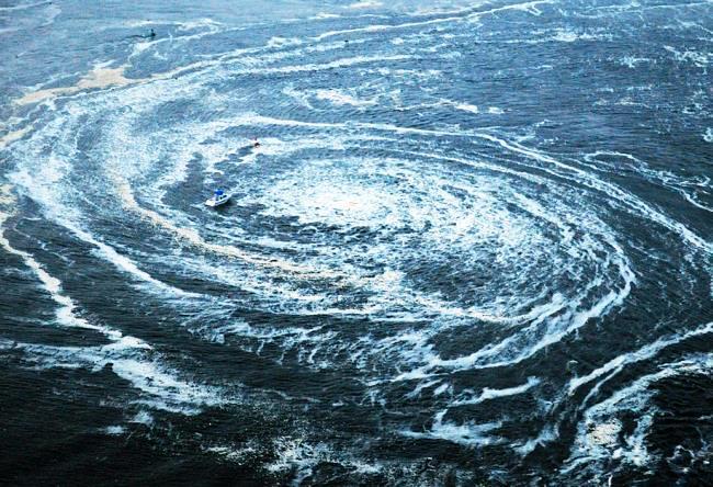 Схема жизни или самые большие мировые водовороты