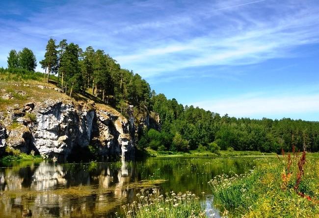 Южно-Уральская лунная река - красивая и необычайная река Ай
