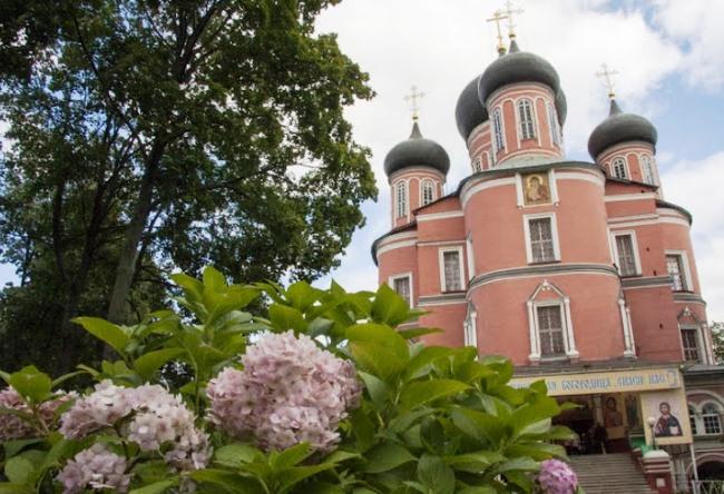 Донской монастырь иконы Божьей матери в Москве