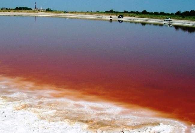 Лечебные воды озера Тинаки