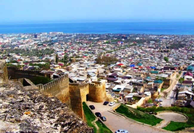 Дербенская крепость  гордость Дагестана 3