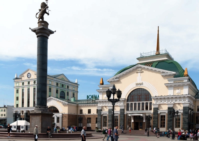 Красноярск  город на Енисее 2