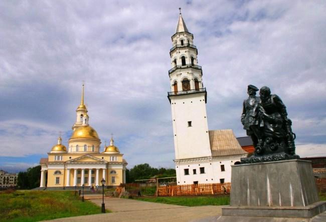 Наклонная башня Невьянска 3