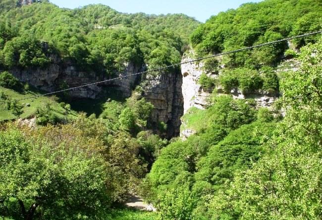 Живописное Чегемское ущелье 3