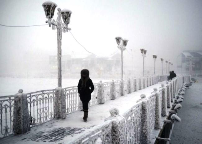 Абсолютный полюс холода  поселок Оймякон 2