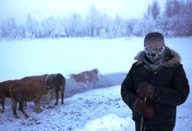 Абсолютный полюс холода  поселок Оймякон 3