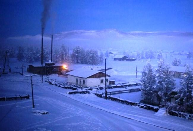 Абсолютный полюс холода  поселок Оймякон 5