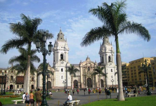 Столица Перу Лима 2