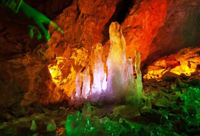 Женевская пещера близ города Дивногорск 5